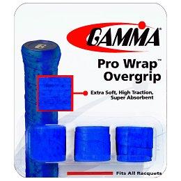 Gamma Pro Wrap Overgrip 3 Pack: Gamma Tennis Overgrips
