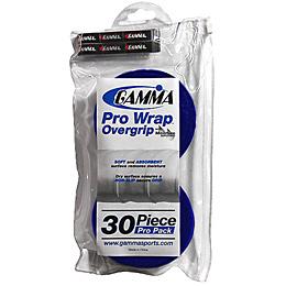 Gamma Pro Wrap Overgrip 30 Pack: Gamma Tennis Overgrips