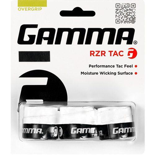 Gamma RZR Tac Overgrip 3 Pack: Gamma Tennis Overgrips