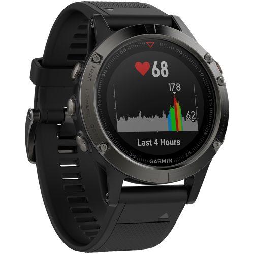Garmin fenix 5 Slate Gray: Garmin Heart Rate Monitors
