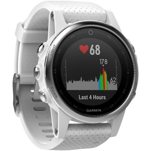 Garmin fenix 5s Carrara White: Garmin Heart Rate Monitors