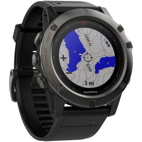 Garmin fenix 5x Sapphire Slate Gray: Garmin Heart Rate Monitors