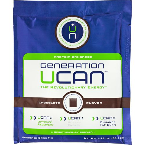 Generation UCAN Chocolate Protein 12 Pack: Generation UCAN Nutrition