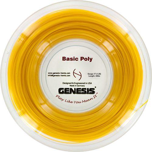 Genesis Basic Poly 17 1.25 660' Reel: Genesis Tennis String Reels