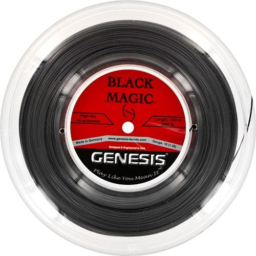 Genesis Black Magic 16 660' Reel: Genesis Tennis String Reels