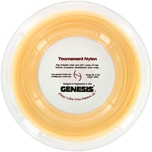 Genesis Tournament Nylon 15L 660' Reel: Genesis Tennis String Reels