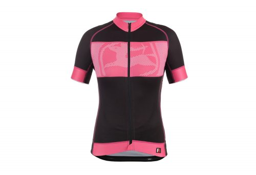 Giordana FR-C Maestra Short Sleeve Jersey - Women's - black/pink, medium