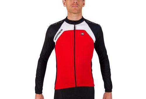 Giordana Silverline Long Sleeve Jersey - Men's - red, medium