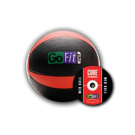 GoFit Ultimate 8lb Rubber Medicine Ball - 1 ea.
