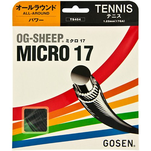 Gosen OG-Sheep Micro 17: GOSEN Tennis String Packages