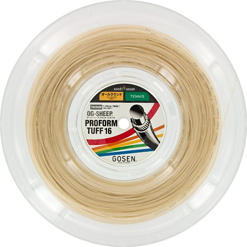 Gosen Pro Form Tuff 16 660' Reel: GOSEN Tennis String Reels