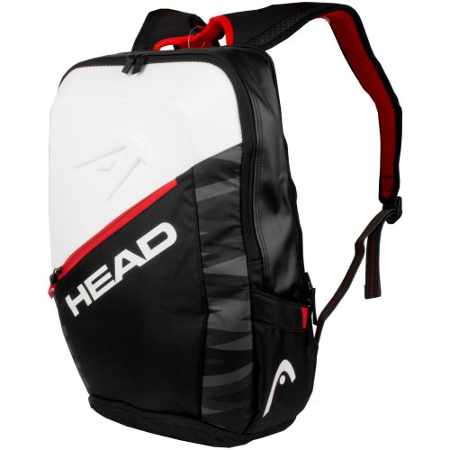 HEAD Djokovic Backpack 2018 Black/White/Red: HEAD Tennis Bags