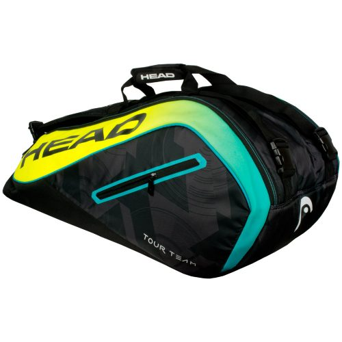 HEAD Extreme 9 Racquet Supercombi 2017 Black/Yellow: HEAD Tennis Bags