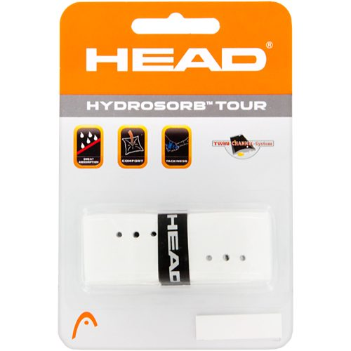 HEAD Hydrosorb Tour Replacement Grip: HEAD Tennis Replacet Grips