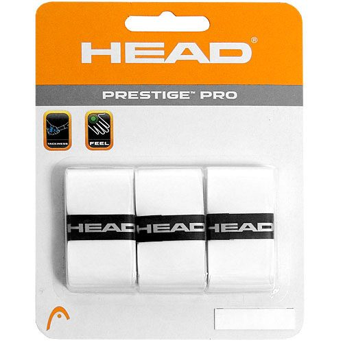 HEAD Prestige Pro Overgrip 3 Pack: HEAD Tennis Overgrips