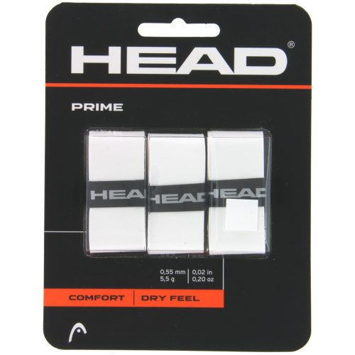 HEAD Prime Overgrip 3 Pack: HEAD Tennis Overgrips
