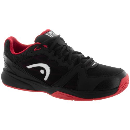 HEAD Revolt Indoor: HEAD Men's Indoor, Squash, Racquetball Shoes Raven/Red