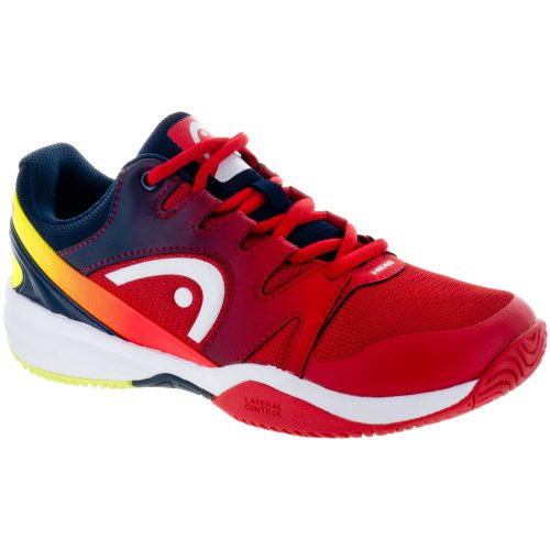 HEAD Sprint 2.0 Junior Red/Black/Iris: HEAD Junior Tennis Shoes