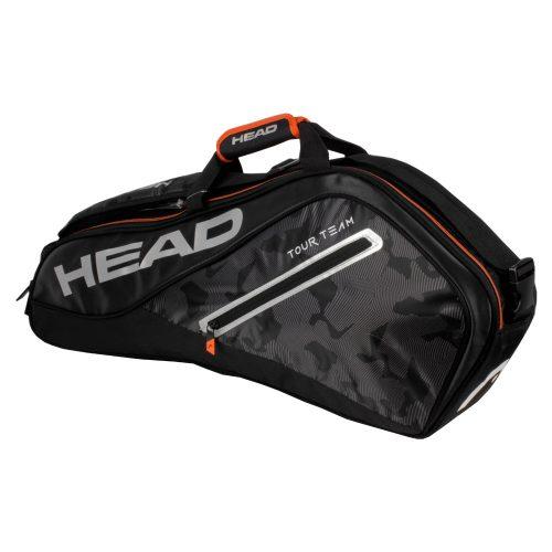 HEAD Tour Team 3 Racquet Pro Bag 2018 Black/Silver: HEAD Tennis Bags