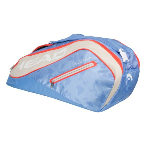 HEAD Tour Team 6 Racquet Combi Bag 2018 Light Blue/Sand: HEAD Tennis Bags