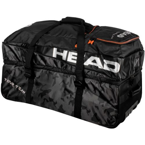 HEAD Tour Team Travel Bag 2018 Black/Silver: HEAD Tennis Bags