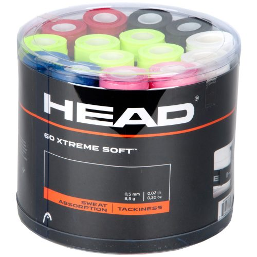HEAD Xtreme Soft Overgrips Jar of 60: HEAD Tennis Overgrips