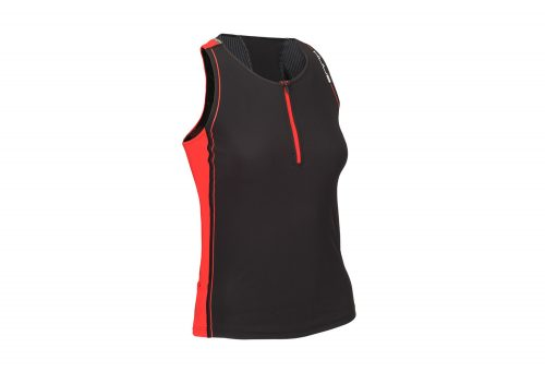 HUUB Core Tri Singlet - Women's - black/red, small