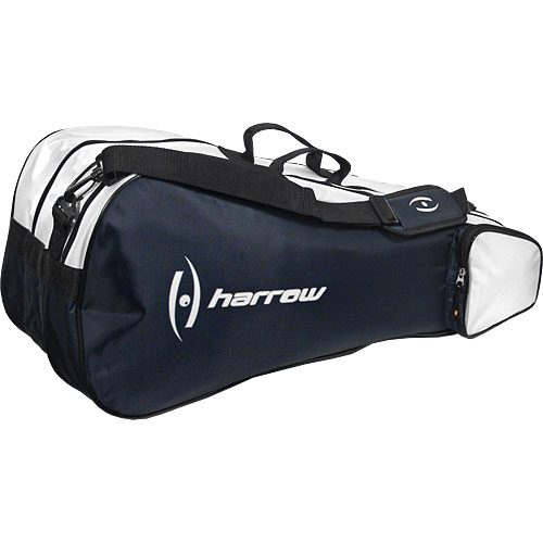 Harrow 3 Racquet Bag Navy: Harrow Squash Bags