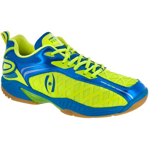 Harrow Vortex: Harrow Men's Indoor, Squash, Racquetball Shoes Green/Blue