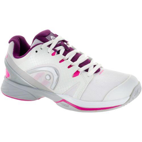 Head Nitro Pro: HEAD Women's Tennis Shoes White/Purple