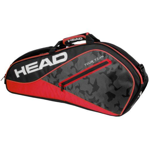 Head Tour Team 3 Racquet Bag 2018 Black/Red: HEAD Tennis Bags