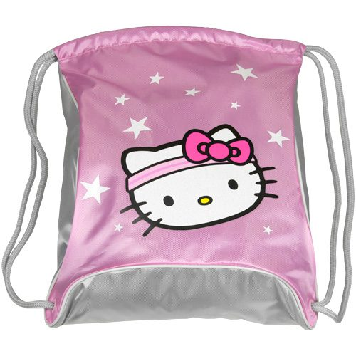 Hello Kitty Sports Sackpack: Hello Kitty Sport Bags