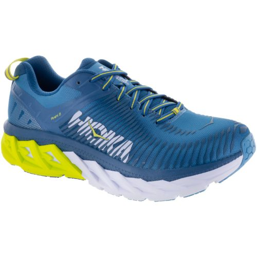 Hoka One One Arahi 2: Hoka One One Men's Running Shoes Niagara/Midnight