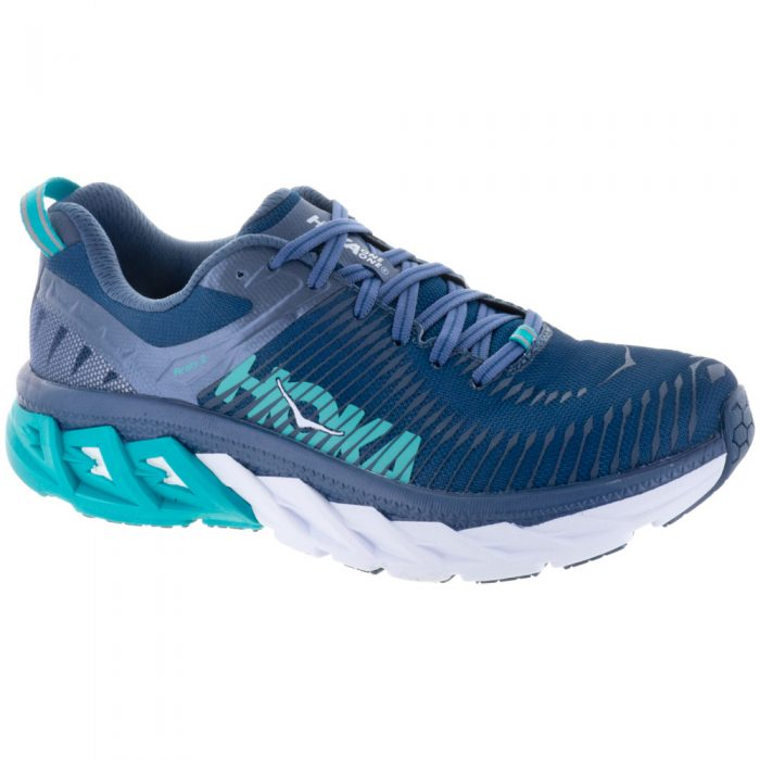Hoka One One Arahi 2: Hoka One One Women's Running Shoes Poseidon/Vintage Indigo