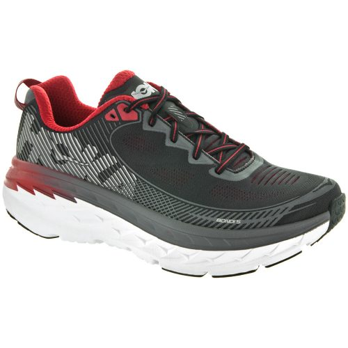 Hoka One One Bondi 5: Hoka One One Men's Running Shoes Black/Formula One