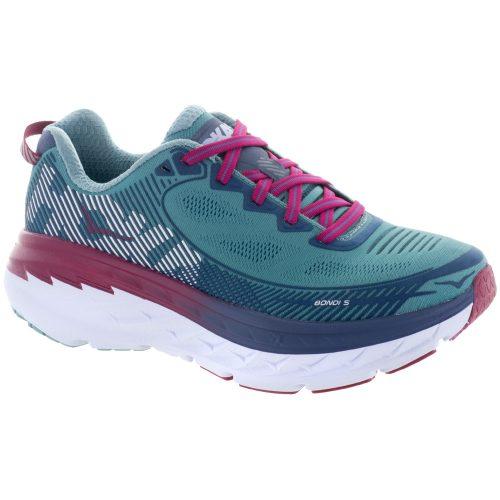 Hoka One One Bondi 5: Hoka One One Women's Running Shoes Aquifer/Vintage Indigo