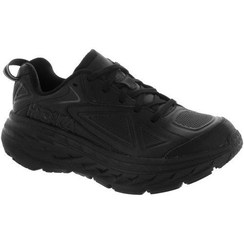 Hoka One One Bondi Leather: Hoka One One Women's Walking Shoes Black