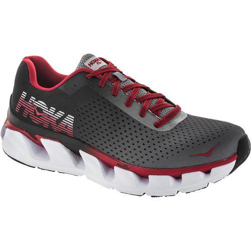 Hoka One One Elevon: Hoka One One Men's Running Shoes Black/Racing Red