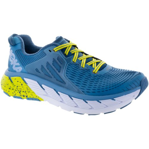 Hoka One One Gaviota: Hoka One One Men's Running Shoes Niagara/Midnight