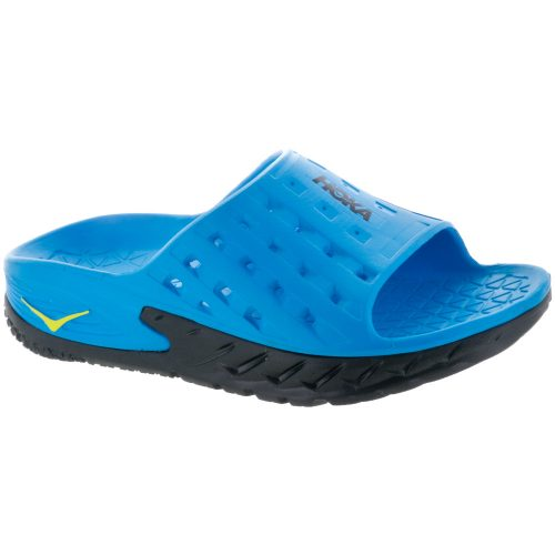 Hoka One One Ora Recovery Slide: Hoka One One Men's Sandals & Slides Black/Process Blue