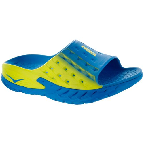 Hoka One One Ora Recovery Slide: Hoka One One Men's Sandals & Slides Blue/Citrus