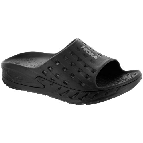 Hoka One One Ora Recovery Slide: Hoka One One Women's Sandals & Slides Black/Anthracite