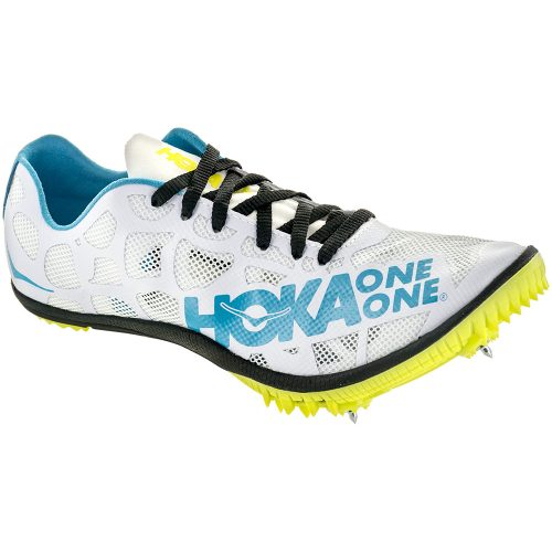 Hoka One One Rocket MD Spike: Hoka One One Women's Running Shoes Black/Cyan