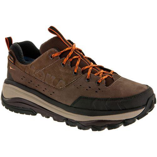 Hoka One One Tor Summit WP: Hoka One One Men's Hiking Shoes Brown/Burnt Orange