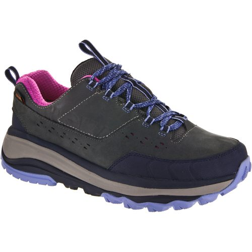 Hoka One One Tor Summit WP: Hoka One One Women's Hiking Shoes Steel Grey/Hydrangea