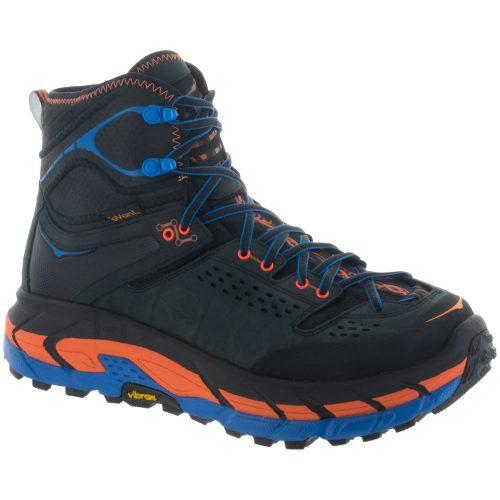 Hoka One One Tor Ultra Hi WP: Hoka One One Men's Hiking Shoes Anthracite/Orange