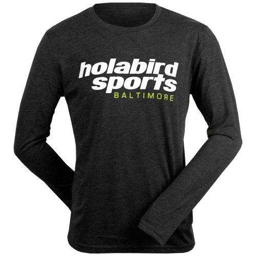 Holabird Sports Baltimore Long Sleeve Tee: Holabird Sports Men's Athletic Apparel