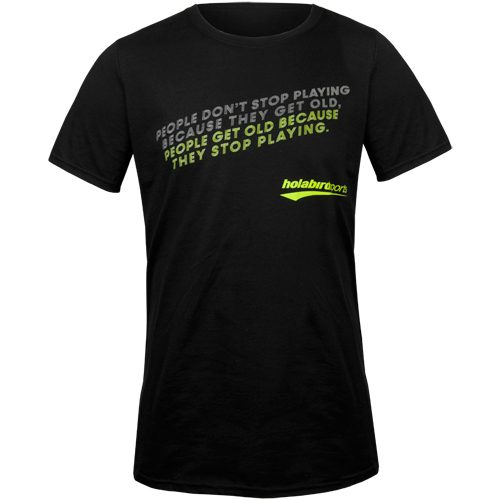 "Holabird Sports ""People Get Old"" T-Shirts: Holabird Sports Tennis Apparel"
