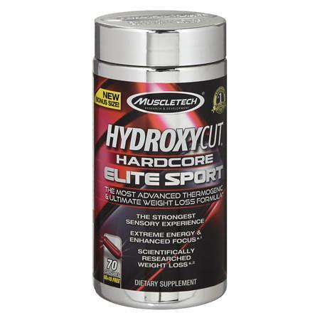 Hydroxycut Hardcore Elite Sport - 70 ea