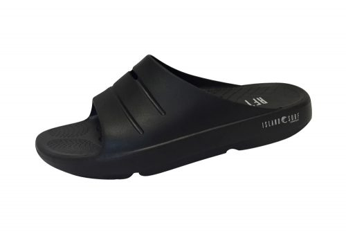 Island Surf Company Crest Slides - Men's - black, 13